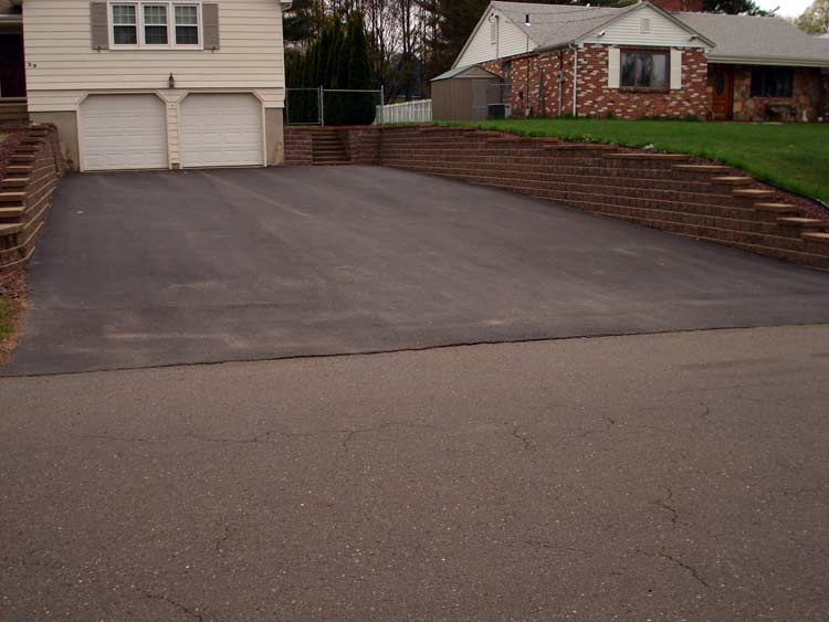 Driveway for Base for concrete driveway